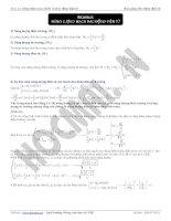 Bài giảng dao động điện từ - năng lượng mạch dao động điện từ docx