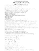Bài tập trắc nghiệm phần dao động điện từ ppt