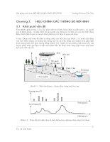 Mô hình hóa môi trường - Chương 3 potx