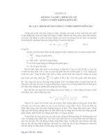 Chương 18 Mở máy và điều chỉnh tốc độ động cơ điện không đồng bộ doc