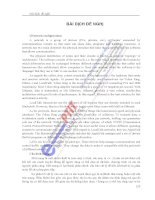 BÀI GIẢNG TIẾNG ANH CHUYÊN NGÀNH CNTT HỌC VIỆN CÔNG NGHỆ BƯU CHÍNH VIỄN THÔNG phần 9 ppsx
