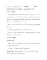 Giáo án Vật lý 12 nâng cao - TIẾT 18 DAO ĐỘNG TẮT DẦN VÀ DAO ĐỘNG DUY TRÌ doc
