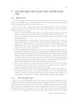 HỆ THỐNG ĐIỀU KHỂN PHÂN TÁN - CHƯƠNG 7 ppt
