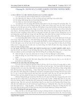 Bài giảng Quản trị chiêu thị - Chương 10 pps