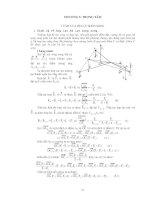 CƠ HỌC LÝ THUYẾT - PHẦN 1 TĨNH HỌC VẬT RẮN - CHƯƠNG 5 pdf