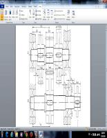 Thuyết minh đồ án thiết kế sản phẩm với CAD Hộp GT Phân Đôi Cấp Chậm