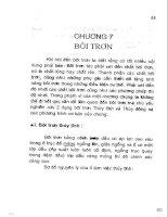 Giáo trình ma sát học - Chương 7 pptx