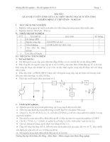 Tài liệu hướng dẫn thí nghiệm cơ sở kỹ thuật điện - Bài 3 ppt