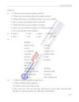sách bài tập tiếng anh A1 học viện công nghệ bưu chính viễn thông phần 9 pps