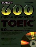 barron s 600 essential words for the toeic ppt