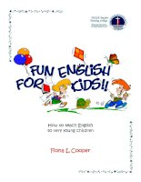 fun enlish for kids phần 1 pps