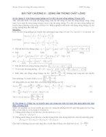 Bài tập cơ học đại cương - Phần 2 Dao động và sóng cơ - Chương 3 pps