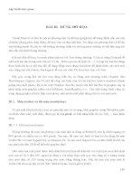 LẬP TRÌNH TRỰC QUAN - PHẦN II VISUAL BASIC - BÀI 20 ppsx