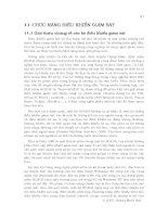 HỆ THỐNG ĐIỀU KHỂN PHÂN TÁN - CHƯƠNG 11 pptx