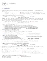 Chuyên đề 5 - Cacbohiđrat docx