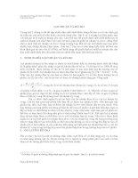 Giáo trình phân tích tài chính - Bài giảng 5 LỢI NHUẬN VÀ RỦI RO AILEN pptx