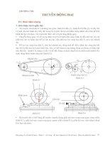 Cơ sở thiết kế máy - Phần 2 Truyền động cơ khí - Chương 8 pptx