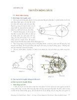 Cơ sở thiết kế máy - Phần 2 Truyền động cơ khí - Chương 7 pdf