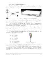 Giáo trình phân tích tổng quan về thiết kế và cài đặt mạng theo mô hình OSI p4 pdf