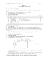 Tài liệu hướng dẫn thí nghiệm cơ sở kỹ thuật điện - Bài 4 pdf