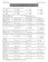 Bài tập chuyên đề: dao động cơ học ppsx