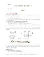Cơ sở thiết kế máy - Phần 3 Các chi tiết máy đỡ nối - Chương 10 pptx