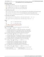 bài tập hóa học Trắc nghiệm tốc độ và cân bằng hóa pdf