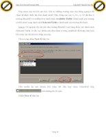 Giáo trình hướng dẫn phân tích nguyên tắc lập trình trong access với joomla code p7 ppt