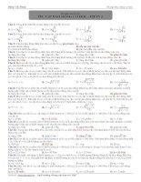 Bài tập chuyên đề: dao động cơ học 21 doc