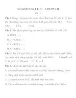 ĐỀ KIỂM TRA 1 TIẾT MÔN HÓA HỌC LỚP 11 ĐỀ 01 TRƯỜNG THPT PHAN THÚC TRỰC pot