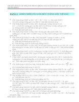 215 bài tập về thể tích trong không gian pptx