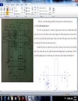 Thuyết minh đồ án thiết kế sản phẩm với CAD Hộp GT Bánh Răng Đồng Trục