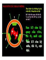 Bài giảng vật lý : Máy phát điện xoay chiều ba pha part 2 pdf