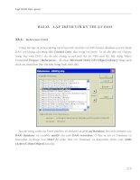LẬP TRÌNH TRỰC QUAN - PHẦN II VISUAL BASIC - BÀI 23 pptx