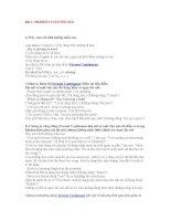 Bài 1 PRESENT CONTINUOUS ppt