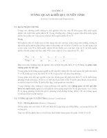 Chương 7: Tương quan và hồi quy tuyến tính pdf