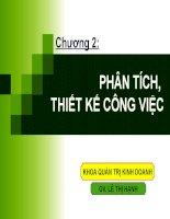 Bài giảng QUẢN TRỊ NGUỒN NHÂN LỰC - Chương 2 pptx