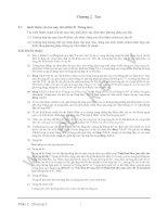 Tiêu chuẩn kỹ thuật và chú giải đối với các công trình cảng - Phần Các điều kiện thiết kế - Chương 2 docx