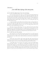 Enzyme kiến thức cơ bản - Chương 6 pdf
