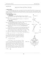 Bài Giảng Môn Trắc Đạc - Chương 3 doc