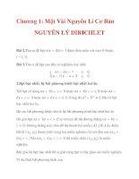 Chương 1: Một Vài Nguyên Lí Cơ Bản NGUYÊN LÝ DIRICHLET_6 pdf