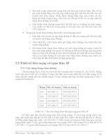 Giáo trình phân tích tổng quan về thiết kế và cài đặt mạng theo mô hình OSI p10 pdf