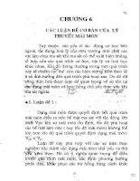 Giáo trình ma sát học - Chương 6 pps