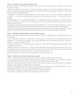15 topic thi nói tiếng anh B1