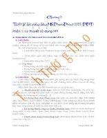 Giáo trình THIẾT KẾ BÀI GIẢNG ĐIỆN TỬ - Chương 2 docx