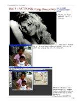 15 bài Actions Photoshop phần 1 ppt