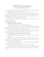 Đăng ký đất đai - CHUYÊN ĐỀ 2 pptx