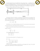 Giáo trình hướng dẫn phân tích nguyên lý chồng chất các chấn động trong hiện tượng giao thoa p3 ppt