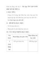 Giáo án tiếng việt lớp 5 - Ôn tập: ÔN TẬP CUỐI HỌC KỲ II( TIẾT 4) ppt