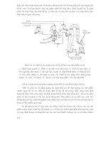 Các quá trình và thiết bị công nghệ sinh học : THIẾT BỊ ĐỂ NGHIỀN, TIÊU CHUẨN HOÁ, TẠO VIÊN VÀ TẠO MÀNG BAO SIÊU MỎNG part 5 ppt
